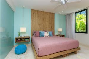 Cama o camas de una habitación en Anah - N110