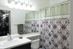 A bathroom at Mission Valley Apartment C3