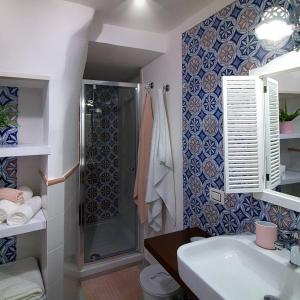 A bathroom at Kallion house