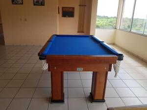 A pool table at Di Roma Rio Quente