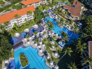 A bird's-eye view of Flats Resort Porto Beach