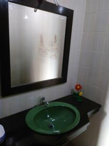 A bathroom at Casa Torres