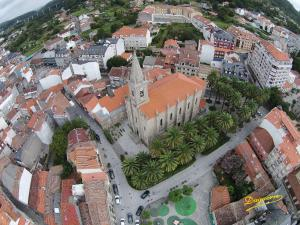A bird's-eye view of Apartamento La Iglesia