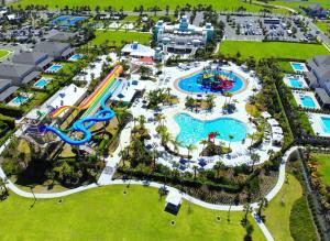 A bird's-eye view of Encore Resort 2106 8 Bedroom Water Park