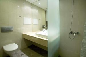 Phòng tắm tại Residence Hotel Malina