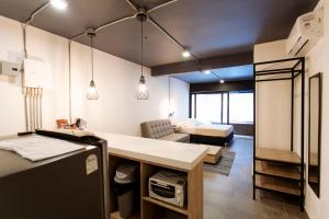 A kitchen or kitchenette at Soy Local