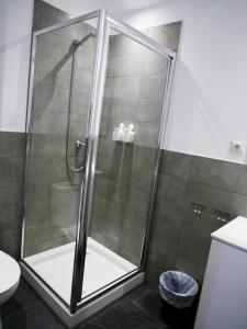 A bathroom at Perla Seven Apartments and Rooms