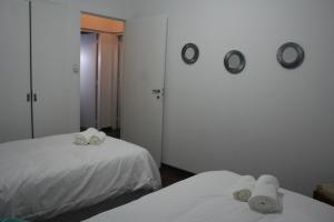 Una cama o camas en una habitación de Amatxi Elsa