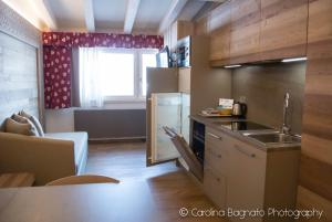 A kitchen or kitchenette at Residence Antares