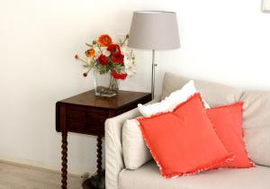 Ein Bett oder Betten in einem Zimmer der Unterkunft Hèt Strandappartement