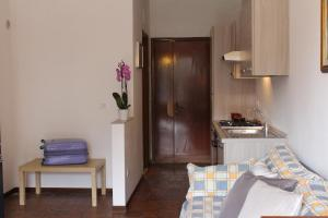 A kitchen or kitchenette at Albergo Residence Pucara