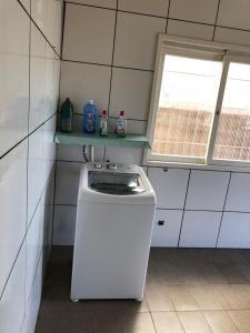 Una cocina o zona de cocina en Casa na serra
