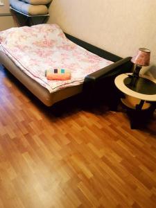 Кровать или кровати в номере Home-Hotel Apartament Comfort+