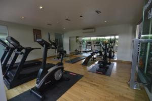 The fitness center and/or fitness facilities at Sakorn Residence and Hotel