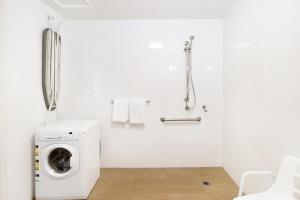 A bathroom at Abode Gungahlin