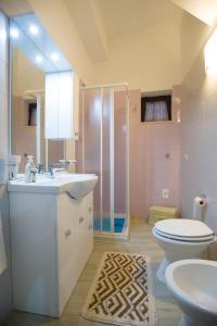 A bathroom at Casa Vacanze Del Core