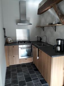 A kitchen or kitchenette at Festina Lente
