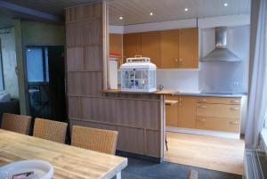 Een keuken of kitchenette bij Clos Normand