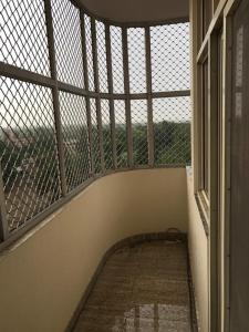 A balcony or terrace at Sri Vrindavan Dham