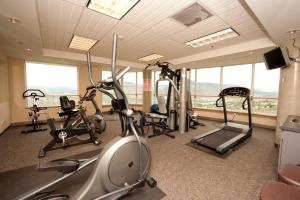 The fitness center and/or fitness facilities at Residence & Conference Centre - Kamloops