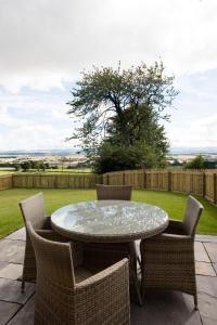 A balcony or terrace at Blairmore Farm