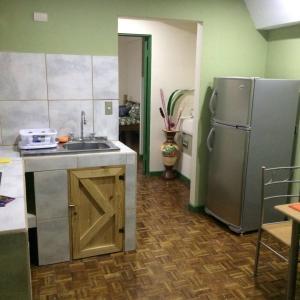 Una cocina o zona de cocina en Beautiful Apartment San Jose Downtown 3
