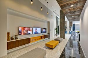 A television and/or entertainment center at Condo in Downtown PHX