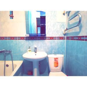 Ванная комната в Best infinity apartment near Asia Park