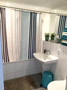 Ein Badezimmer in der Unterkunft Ferienwohnung Dörrie im Zentrum