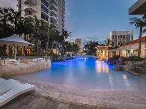 The swimming pool at or near The Towers of Chevron Renaissance - Holidays Gold Coast