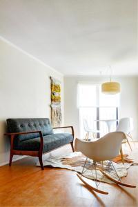 Zona de estar de Rukaza Lastarria Apartments
