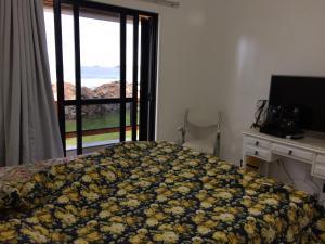Cama o camas de una habitación en Porto Fino