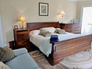 A bed or beds in a room at Bradley Hall