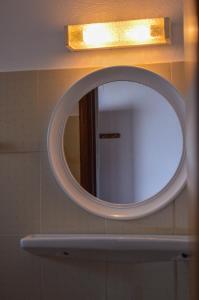 A bathroom at Romantza