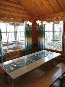 Loma-asunto – yleisnäkymä majoituspaikasta