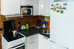 A kitchen or kitchenette at Панорама