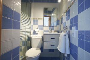 A bathroom at Pisos con Azotea y Patio - Plaza de Estrella - ToledoRooms