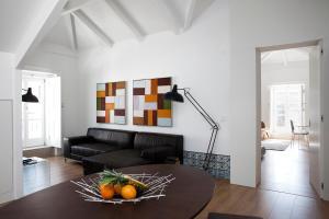 A seating area at Lisbon Serviced Apartments - Baixa