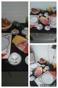 Ontbijt beschikbaar voor gasten van Slapen in Dordrecht