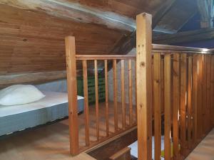 Un ou plusieurs lits superposés dans un hébergement de l'établissement Duplex confort Marolles