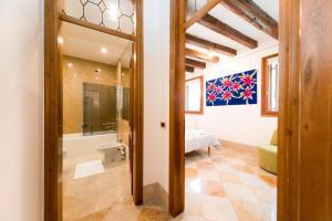 A bathroom at mimosa