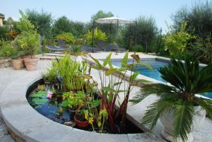 Vue sur la piscine de l'établissement Bastide Saint-Joseph ou sur une piscine à proximité