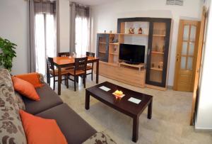 Zona de estar de Apartamentos Sevilla