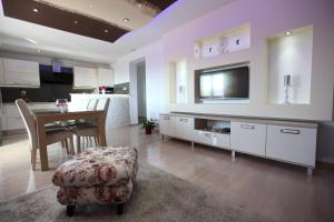 A television and/or entertainment center at Ana & Marija