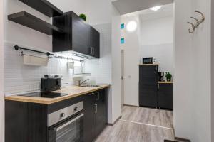 Küche/Küchenzeile in der Unterkunft Palace Residence