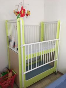 A bunk bed or bunk beds in a room at jany et christine