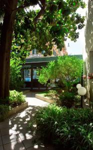A garden outside Residence Prati