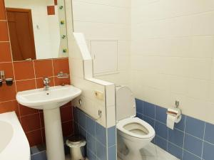 A bathroom at Apartment on Karmanitskiy