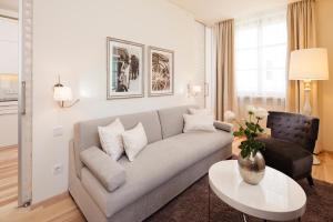 Ein Sitzbereich in der Unterkunft Hapimag Resort Salzburg