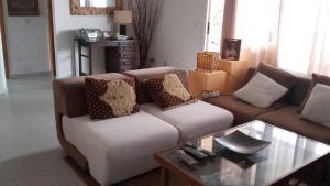 A seating area at Villa Montecristo Ibiza